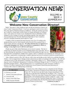 thumbnail of Summer 2017 Newsletter
