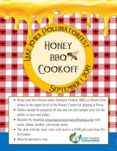 thumbnail of 2019 Cooking contest poster with bees