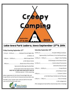 thumbnail of Creepy Camping flyer