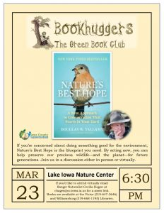 thumbnail of Bookhuggers Natures Best Hope
